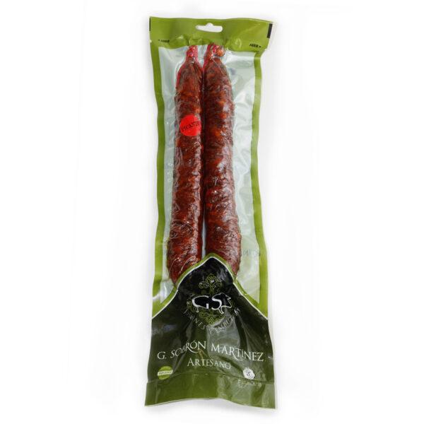 Chorizo Artesano picante - Embutidos Sobrón