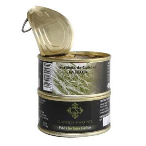 Pate a las finas hierbas - Embutidos Sobrón