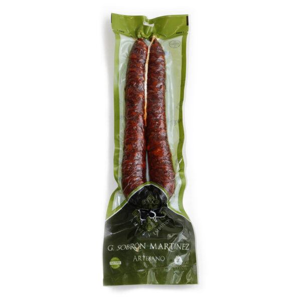 Chorizo casero dulce - Embutidos Sobrón