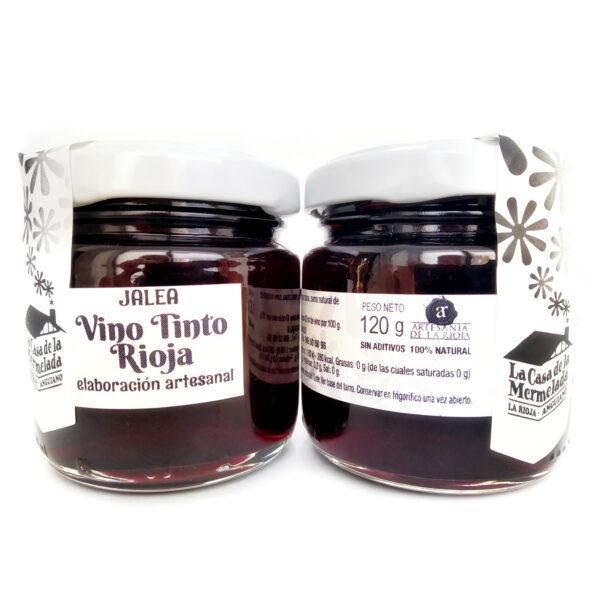Mermelada de jalea de vino tinto